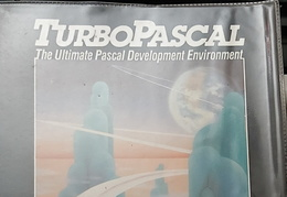 Turbo Pascal for CP/M front cover